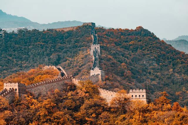 Gran vista de la Muralla china