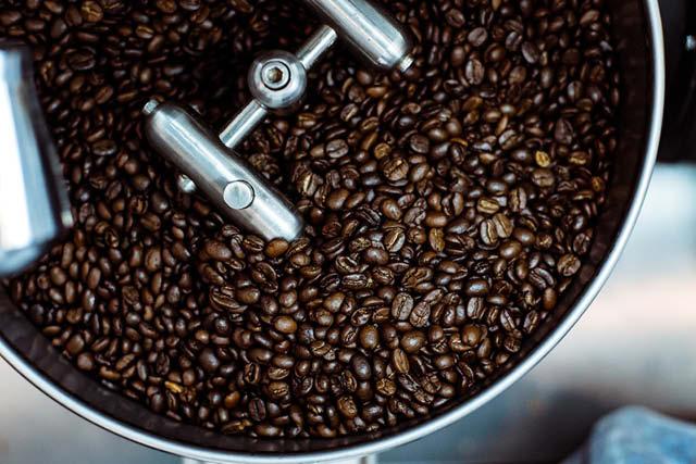cafe tostado listo para moler