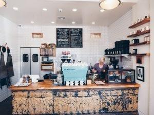 Menotti's coffee shop interior