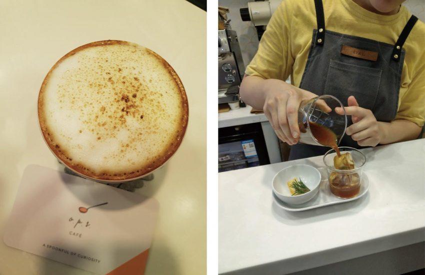 una bebida de autor a base de cafe