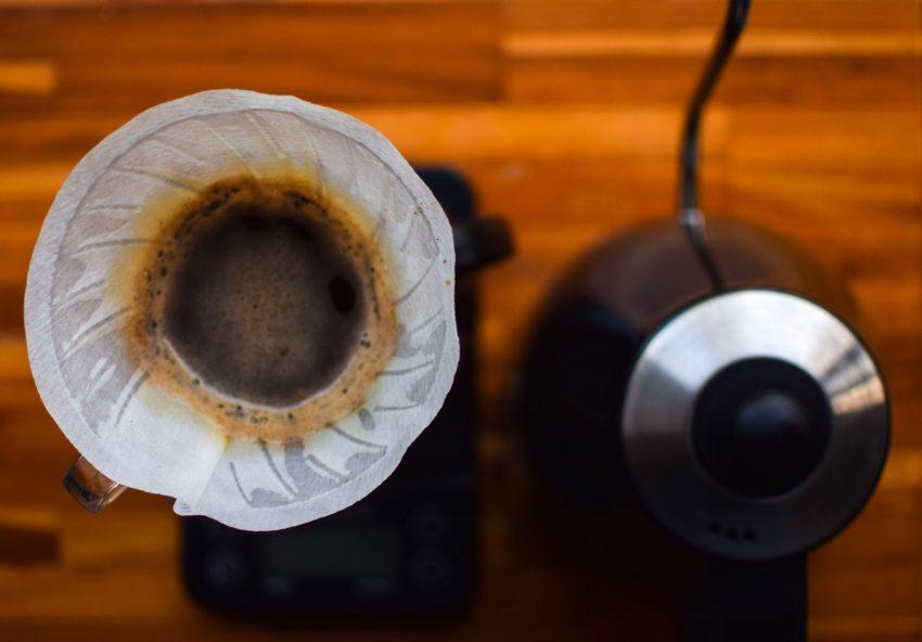 cafe listo para servirse