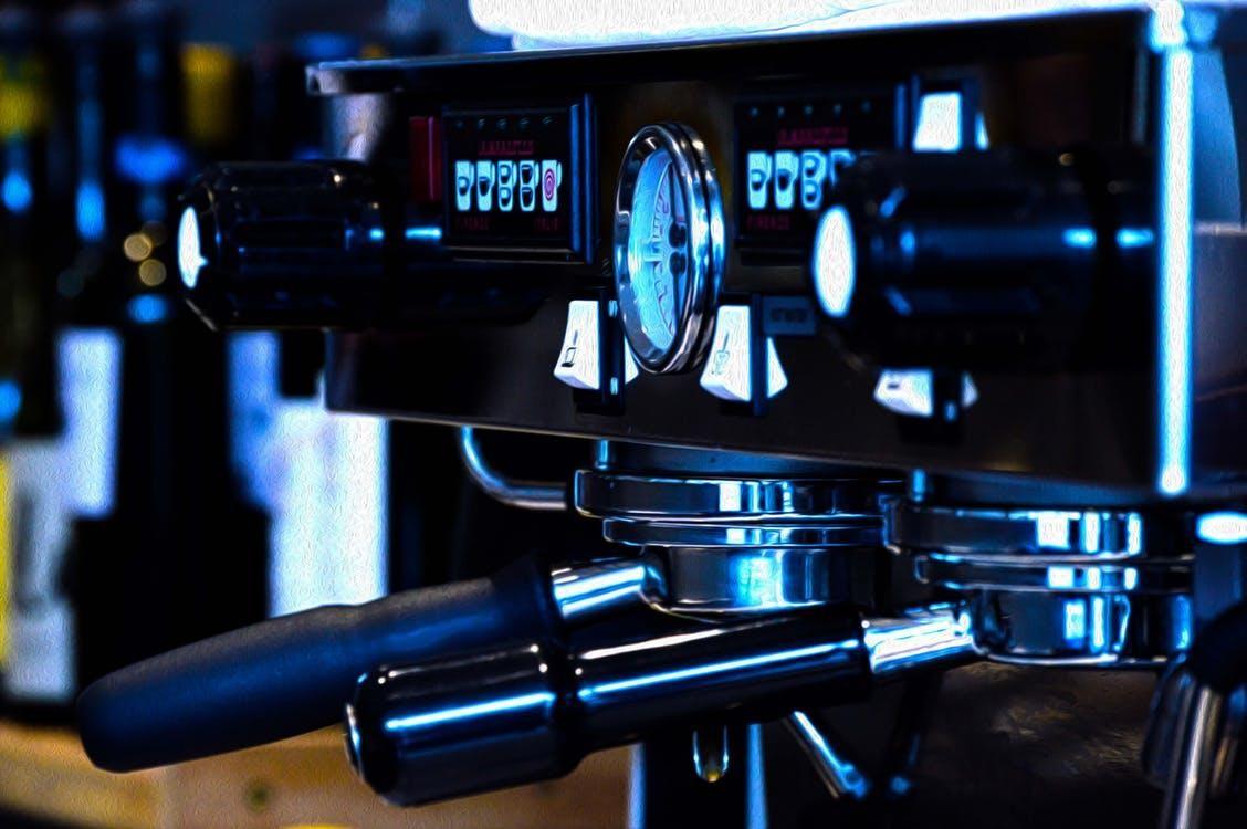 maquina espreso de dos grupos