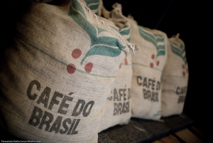 bags of brazilian coffee
