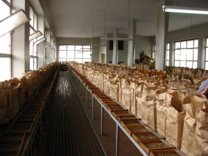 coffee sample room