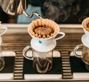 coffee blooming