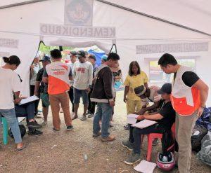 eergency team in sulawesi