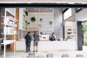 bar at paramount coffee project