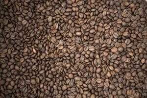 batch of freshly roasted coffee