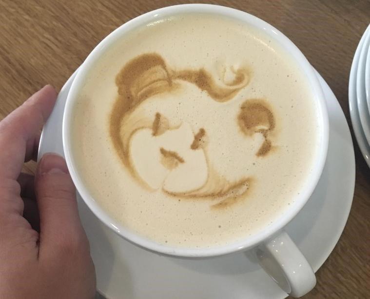 cafe con arte latte