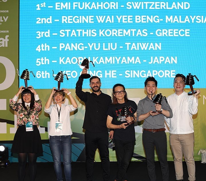 Finalistas de la competencia de filtrados en brasil