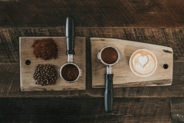 diferentes presentaciones del cafe