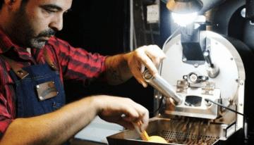 La Escena Del Café Especial De Buenos Aires, Argentina