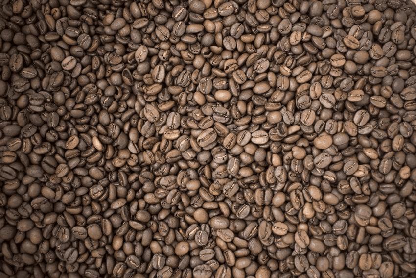 una muestra de cafe tostado
