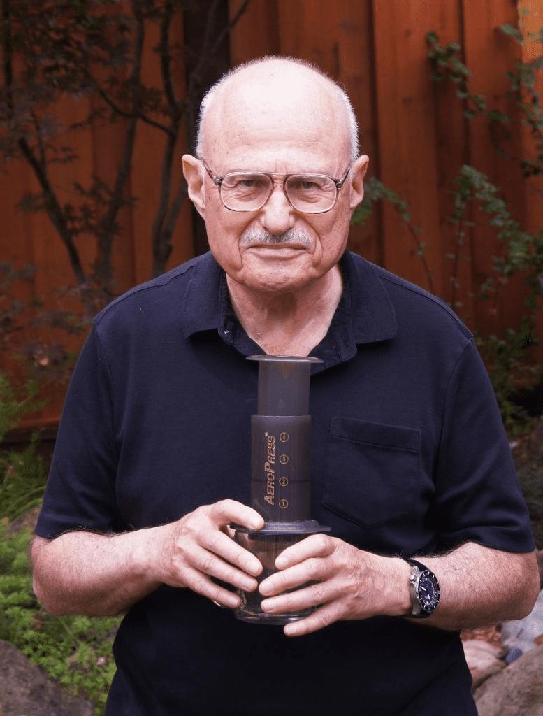 Alan el inventor del aeropress
