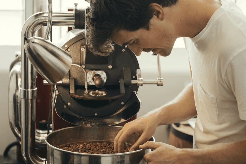 despues de que el cafe es tostado se deben revisar para detectar defectos