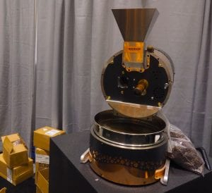 behmor copper coffee roasting machine