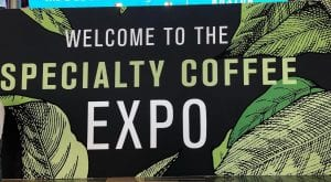 specialty coffee expo banner