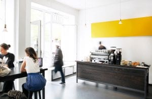 interior of nano kaffee