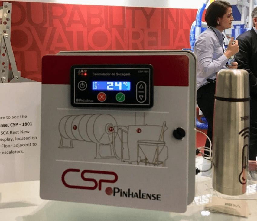 aparato tecnologico para productores de cafe